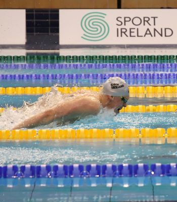 Hyland Shatters Butterfly Record Dipping Under European Championship Time