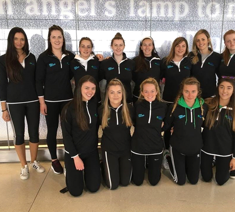 Irish Senior Ladies & Men Compete in EU Nations