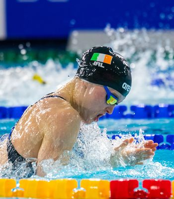 McSharry Fourth in Breaststroke Final; Hill, Ryan and Relay Smash Irish Records