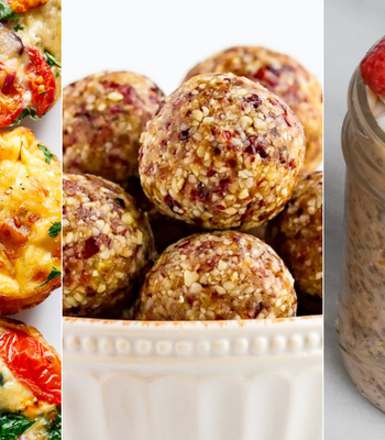 3 Healthy Snacks in 30 Minutes