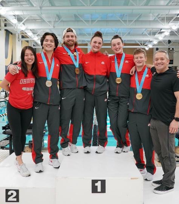 Diver Ciara McGing Breaks Irish Record in Indiana
