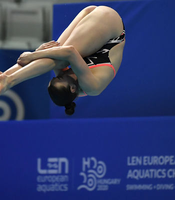Clare Cryan 8th at LEN European Aquatics Championships